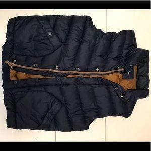 Men's Gap Navy Blue Puffer Vest, Medium